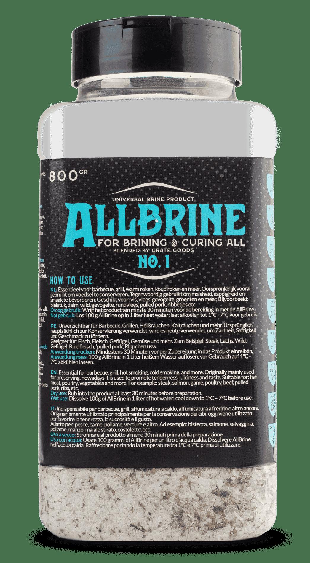 Grate Goods Allbrine no.1