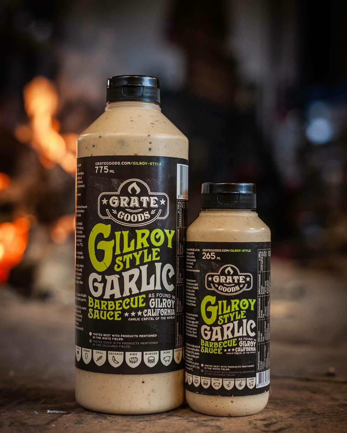 Grate Goods Gilroy Garlic bbq sauce