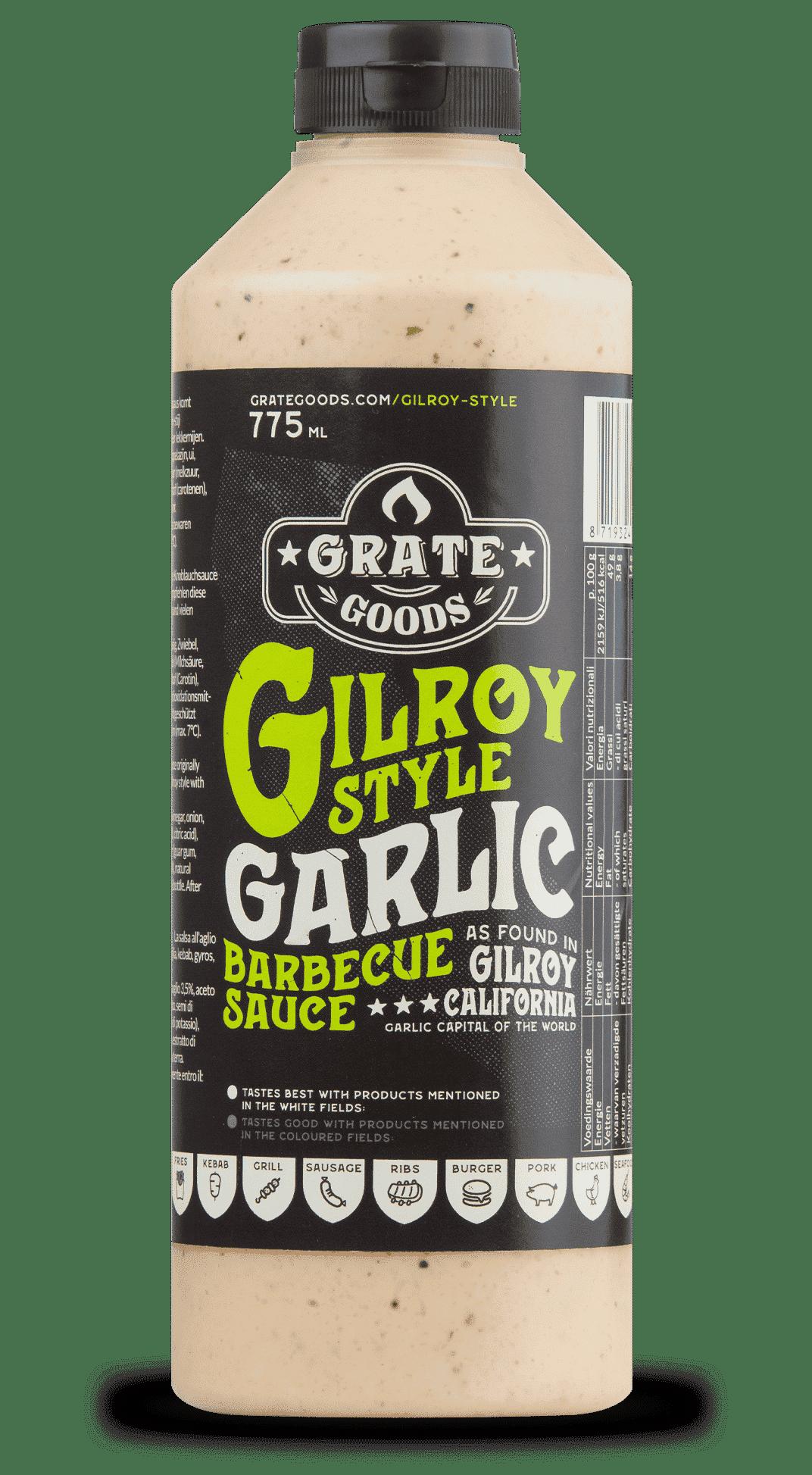 grate goods gilroy garlic sauce