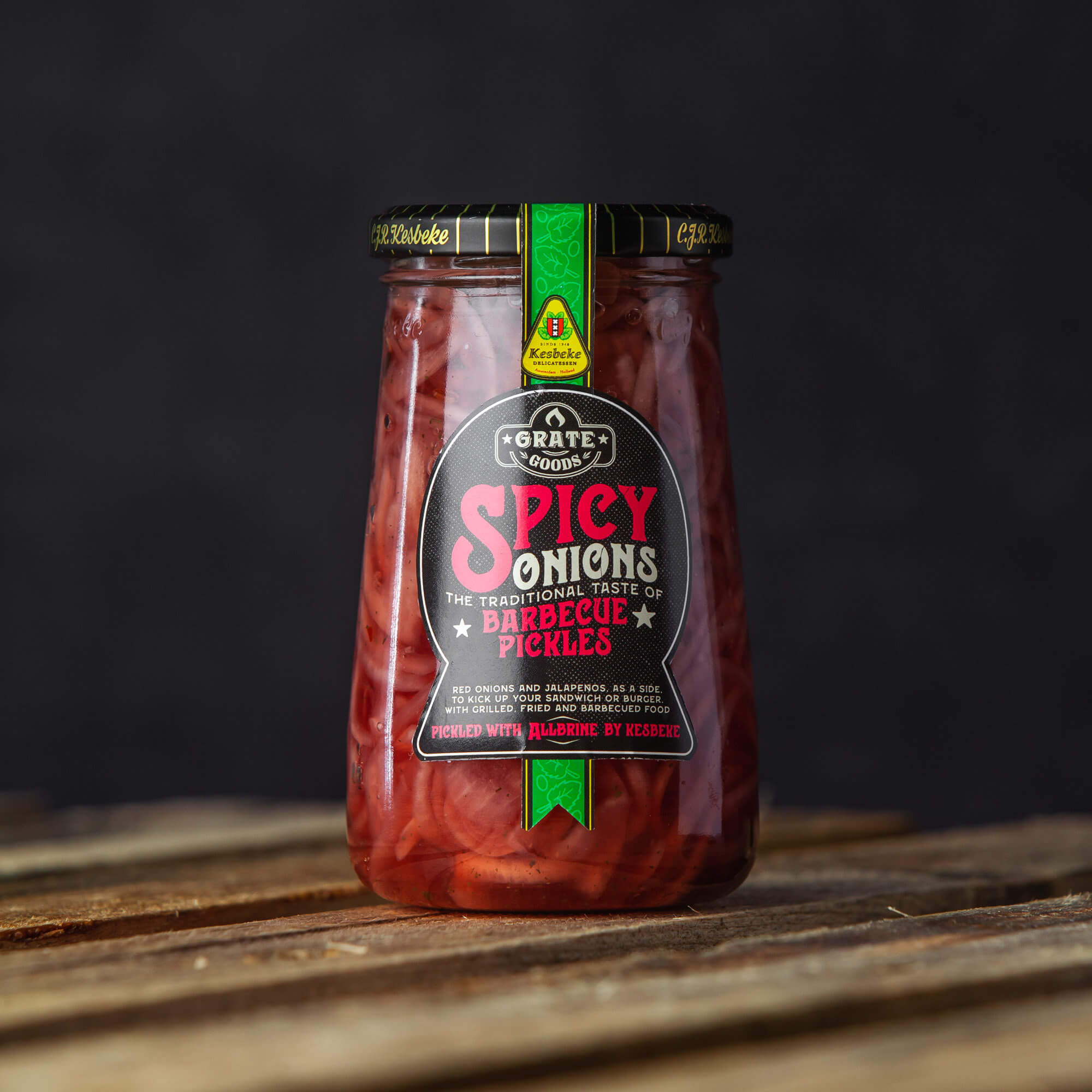 Spicy Onions - BBQ pickles | Grate Goods
