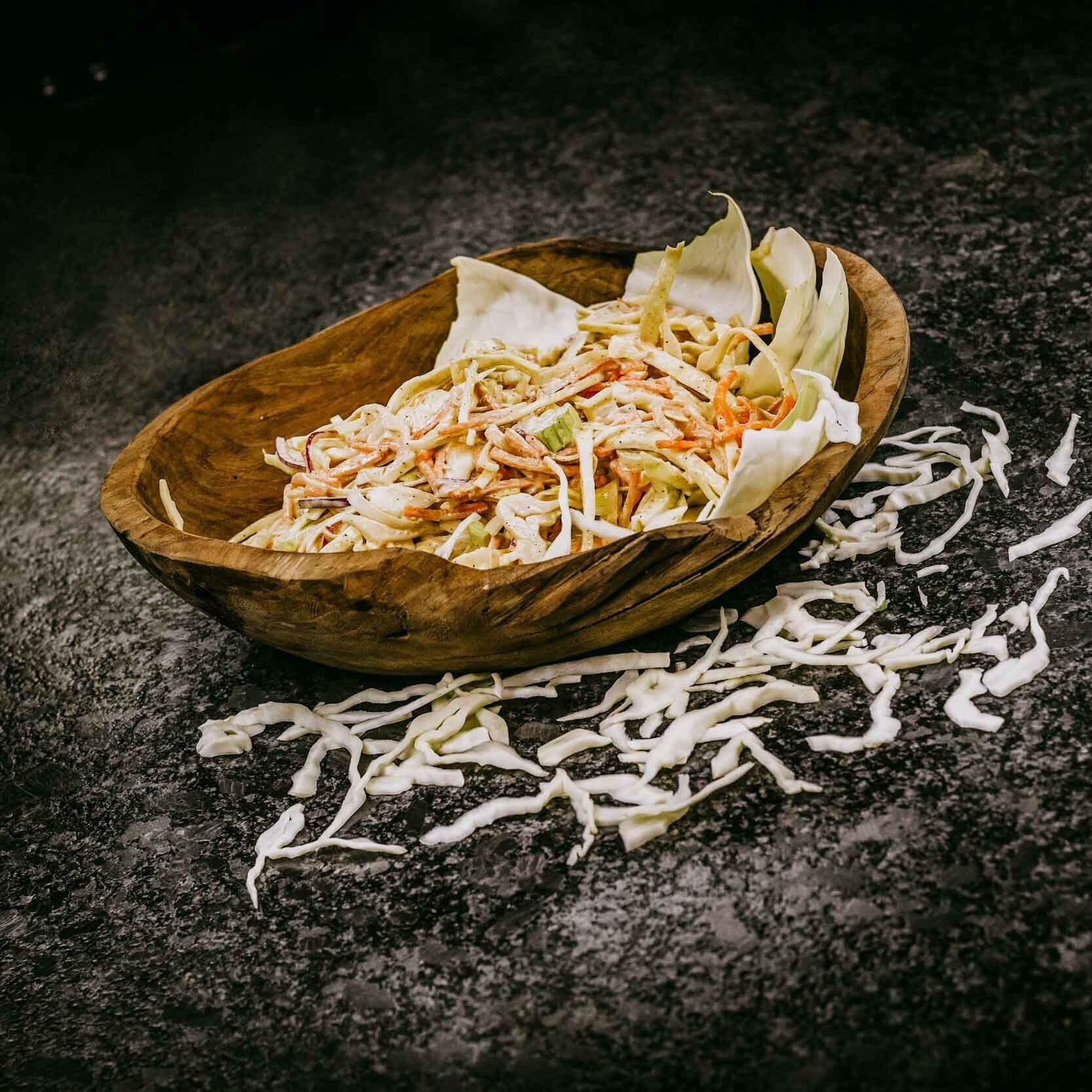 Klassieke coleslaw recept Grate Goods