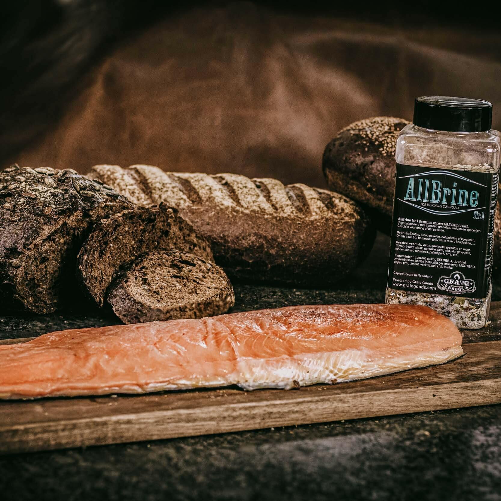Cold smoked salmon recept
