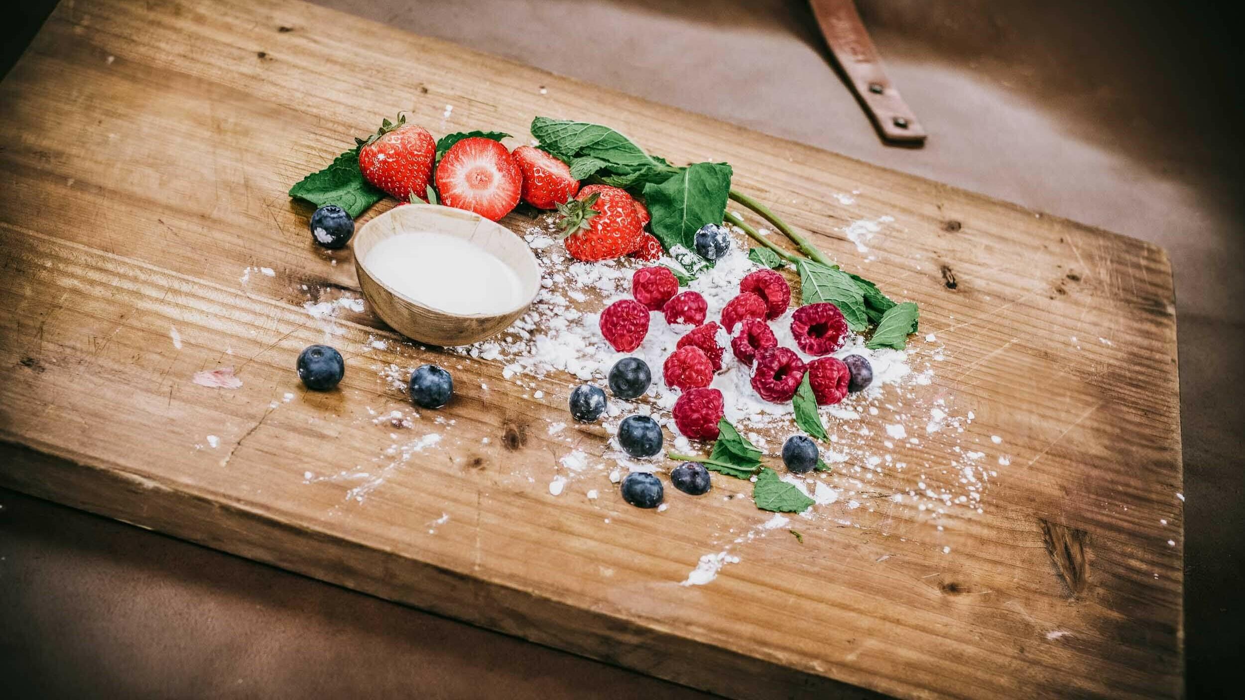Fruit cobbler recept